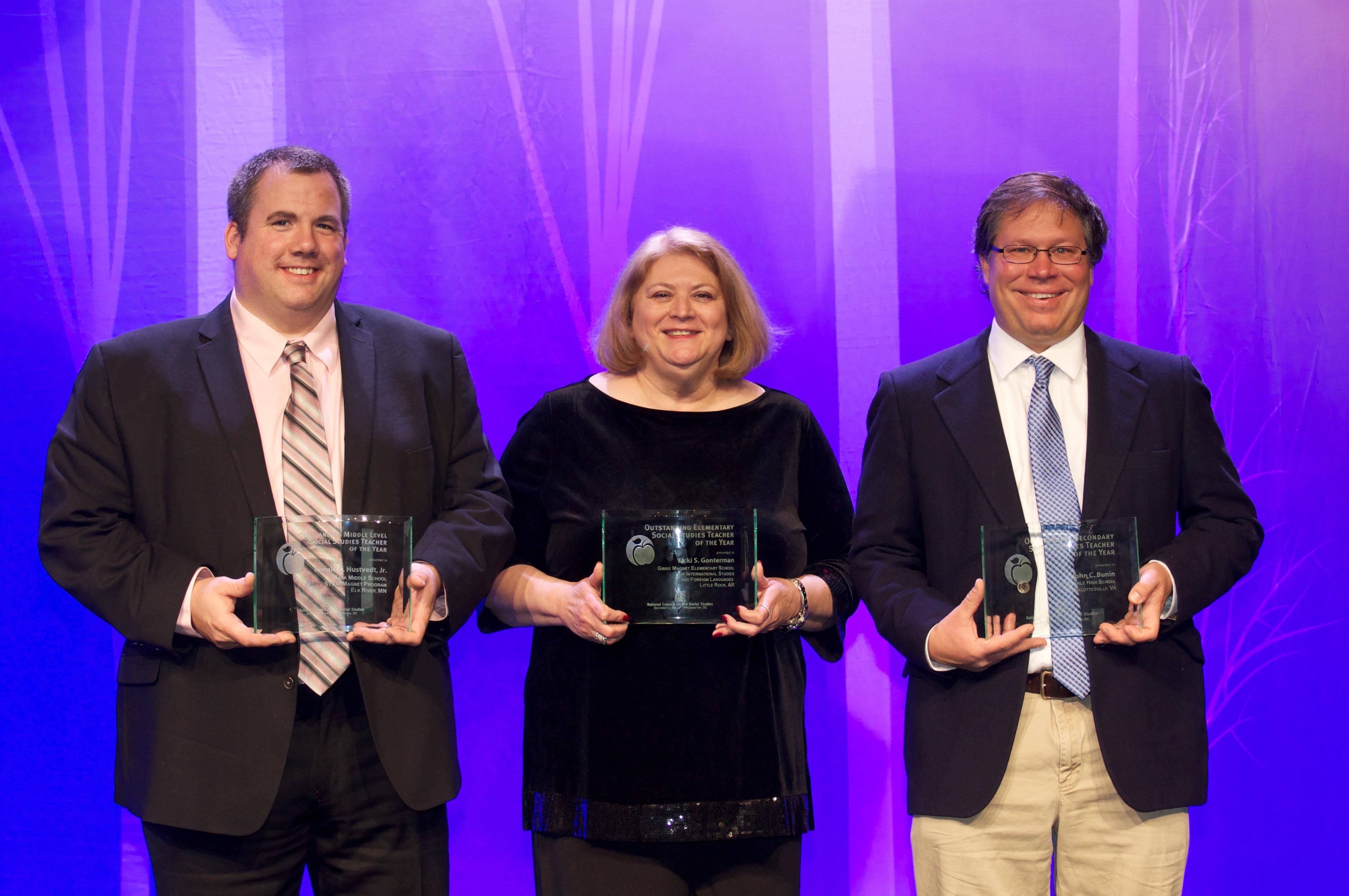 Outstanding Social Studies Teachers of the Year