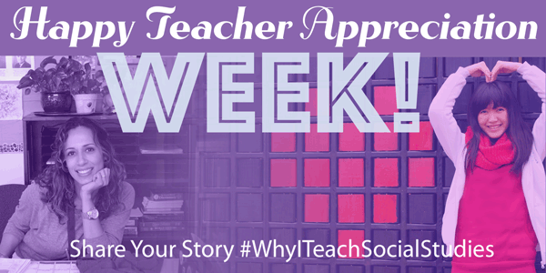Happy Teacher Appreciation Week Banner
